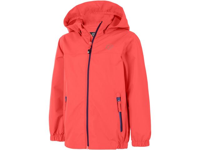Color Kids Thinus Jacket Kinder fiery coral